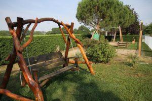 espace repos au calme dans les jardins